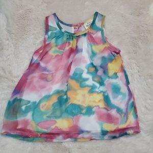 NWT-Little Maven Baby Girl's Sleeveless Dress